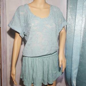FP Beach Pastel Green / Mint Cover-Up Dress 🌼